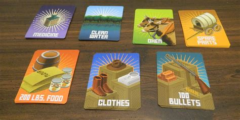 card suppliers the oregon trail card review and geeky hobbies
