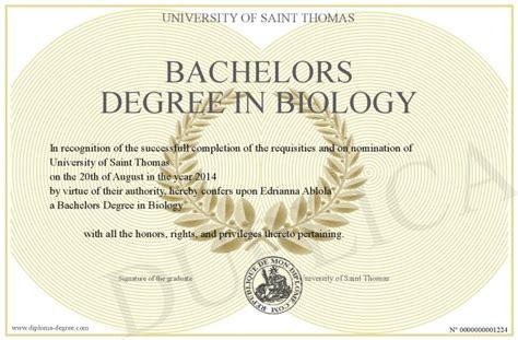 bachelors degree in biology bachelors degree in biology