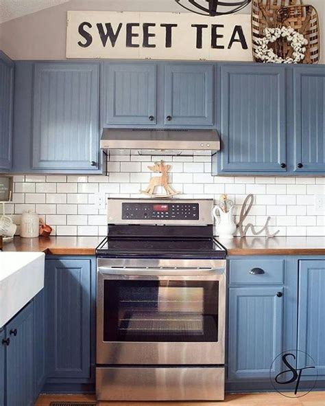 two tone painted kitchen cabinets ideas saomc co blue kitchen cabinets fresh in luxury cabinet colors
