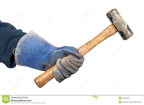 swinging a sledgehammer man swinging hammer stock photo image of grip human
