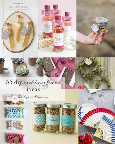 Diy Wedding Giveaways Ideas - diy wedding favors