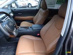 Lexus Rx 350 Saddle Interior Saddle Espresso Birds Eye Maple Interior 2013 Lexus Rx