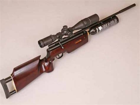 The AR2079A Custom Chinese Air Rifle. CO2 powered wood and