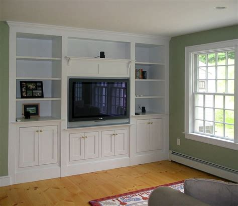 Handmade Tv Cabinets - wall units amusing custom tv cabinets modern built in tv