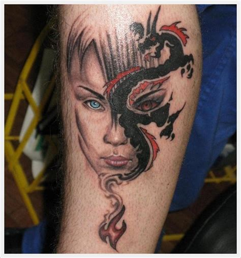 dragon tattoo designs for legs for tattoos