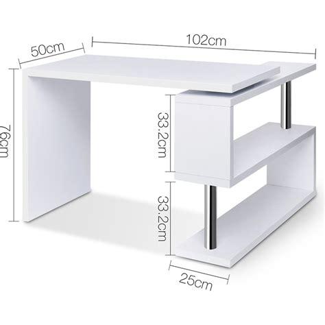 corner desk with bookshelf office corner computer desk with bookshelf in white buy