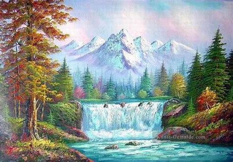bob ross painting bridge g 252 nstig freehand 11 bob ross landschaft gem 228 lde mit
