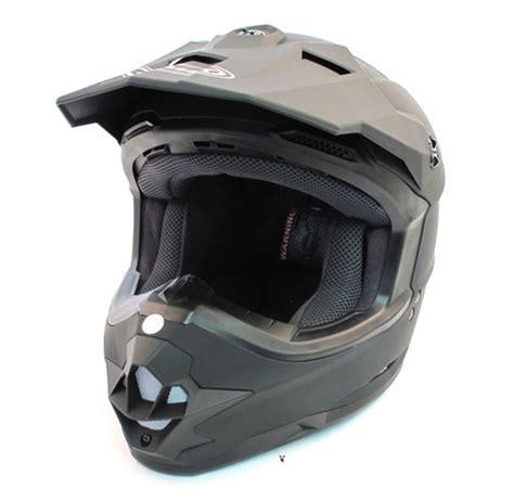 flat black motocross helmet gmax gm76 flat black motocross helmet