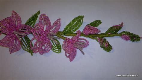 fiori di perline tutorial tutorial fiori di perline il gladiolo manifantasia