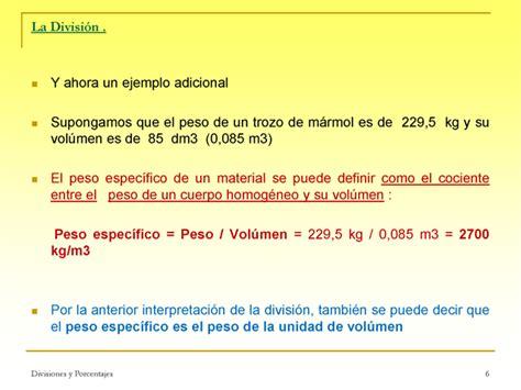 cuanto es el porcentaje de una liquidacion de trabajo divisiones y porcentajes presentaci 243 n powerpoint