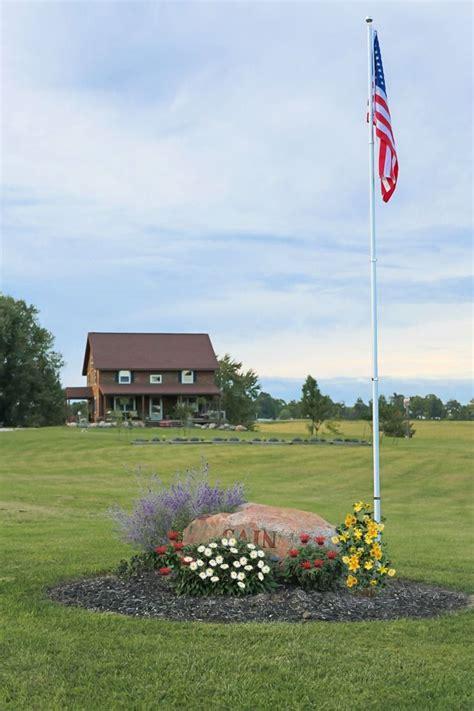 best 20 flag pole landscaping ideas on yard