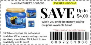 maxwell house coffee coupons manufacturer coupons