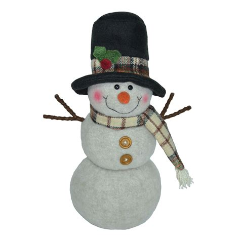 Snowman Home Decor by Trim A Home 174 9 5 Quot Snowman With Top Hat D 233 Cor Seasonal