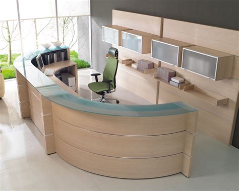 reception area desks ergonomic reception area interior design for professional office design amaza design