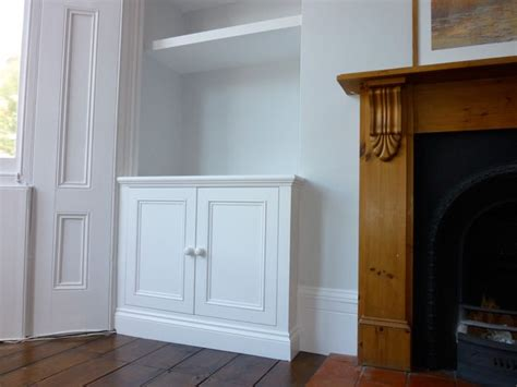 Living Room Alcove Cupboards by Classic Style Built In Alcove Cuboard Kewl