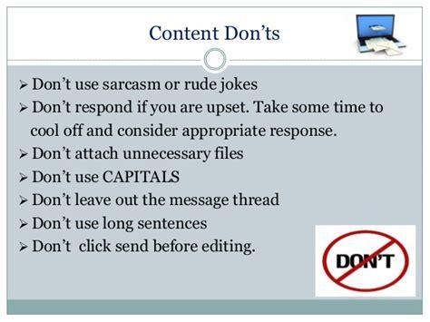 email etiquette pdf email etiquette