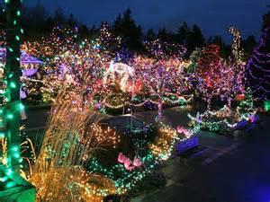 Vandusen Botanical Garden Lights The Festival Of Lights Vandusen Botanical Garden Insideaem