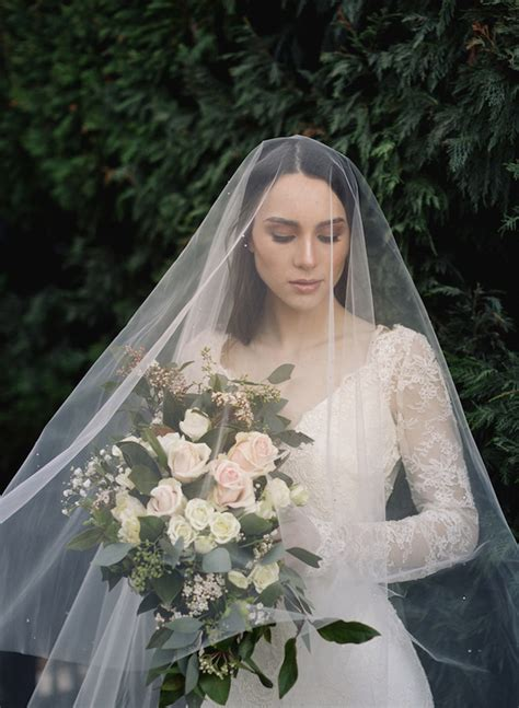 Wedding Updo With Veil Above by Flying High Wedding Veils Above Or Below The Bun