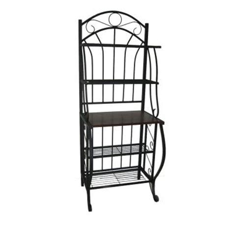 Bakers Rack Home Depot by Boraam Valencia Baker S Rack 12500 The Home Depot