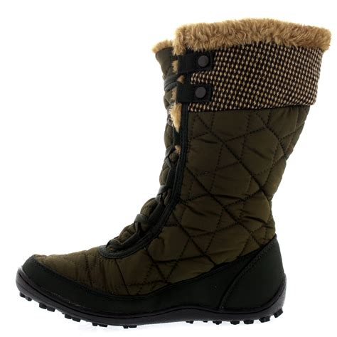 snow boot womens columbia minx mid ii tweed omni heat waterproof