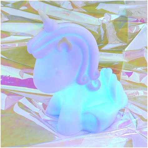 unicorn in light colour changing unicorn mood light iwoot