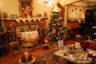 Christmas Livingroom living room christmas decor come with red and silver christmas
