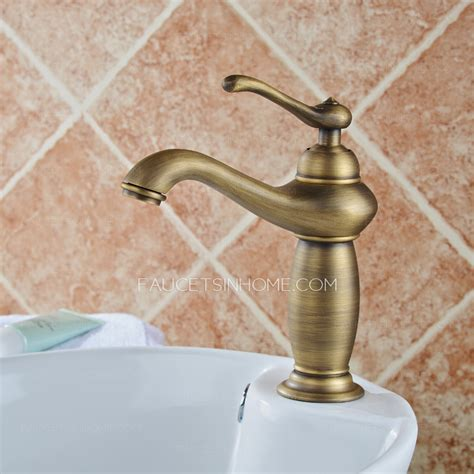 brushed copper bathroom faucets european style antique copper brushed bathroom faucet