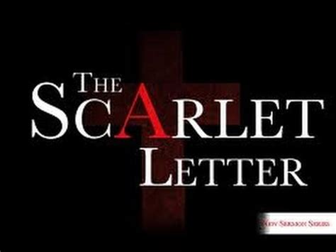 scarlet letter important themes the scarlet letter movie theme cover youtube