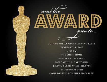 Oscar Awards Invitation Template Lera Mera Business Document Template Oscar Awards Invitation Template