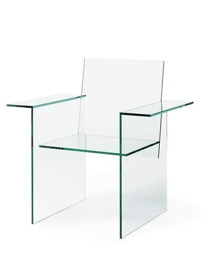 Glass Chairs by Shiro Kuramata A Laminated Glass Chair 1976