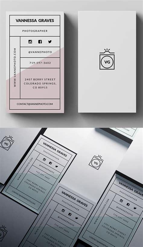 Visitenkarten Template Psd by Stylish Business Card Psd Template Businesscards