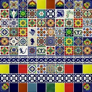 fliesen bunt patchwork fliesen bemalte kacheln aus mexiko f 252 r die wand