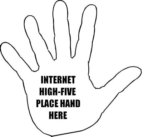 virtual high 5 for everyone come on you know you want it