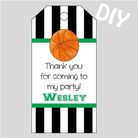 printable basketball tags printable basketball gift tags