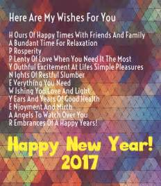 happy new year 2017 wishes quotes with pictures