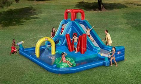 backyard blow up water slides blow up backyard water slide outdoor furniture design