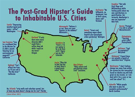 seattle map joke infographic picks on dc favorite stereotype we
