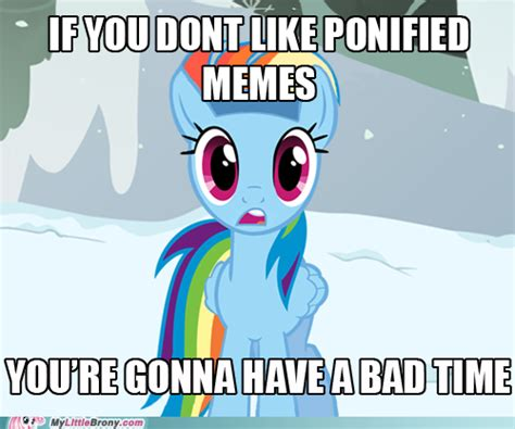 Pony Meme - official pony memes the brony lounge