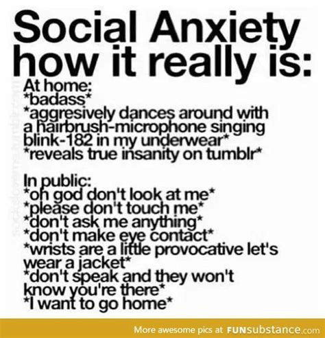 Social Anxiety Meme - social anxiety yup this is what it is funny pinterest