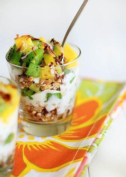 Grande Granola Fruits And Seeds tropical breakfast parfaits recipe