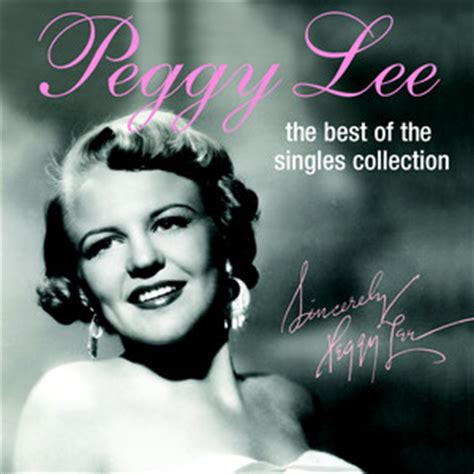 best new cd releases peggylee cd releases the best of the singles collection