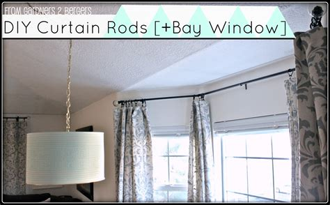 how to hang bay window curtain rods from gardners 2 bergers project gallery