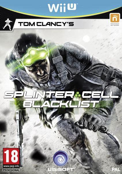 Limited Blacklist Customer splinter cell blacklist wii u zavvi