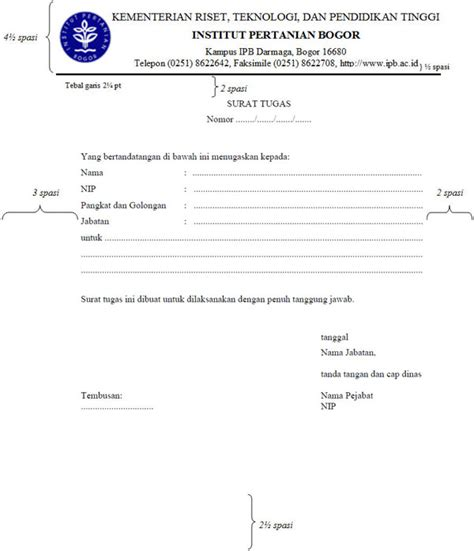 Contoh Surat Tugas Kantor by Form Isian D 1 1 Tentang Penciptaan Arsip S