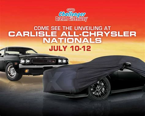 Free Cars Giveaway - 2015 carlisle chrysler nationals host challenger dream giveaway 174 unveiling dream