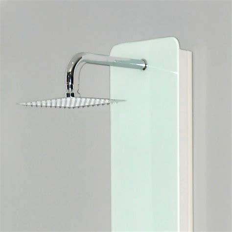 White Shower Panels by Shower Panel Dive White