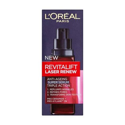 Serum Loreal Revitalift l oreal revitalift laser renew serum 30ml pharmacyfix