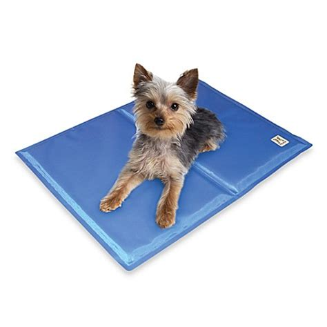 comfort cooling chillz comfort cooling gel pet pad bed bath beyond