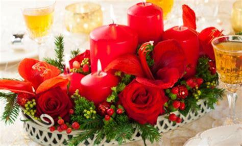 decorare la tavola a natale fai da te centrotavola natalizi fatti a mano tante idee per