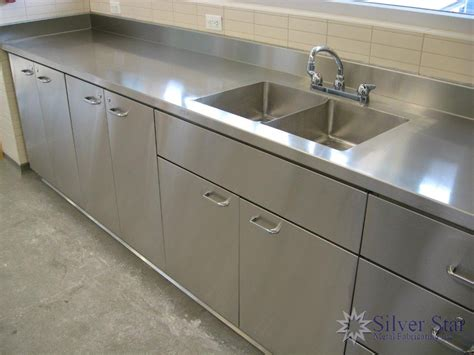 Lovely Stainless Steel Kitchens Cabinets #7: Stainless-steel-kitchen-017.jpg